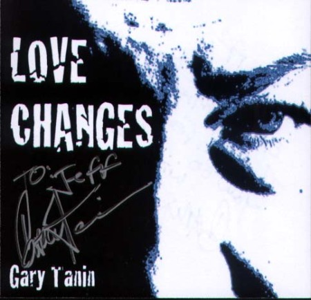A personalized copy of Love Changes by Gary Tanin, get your copy  today!