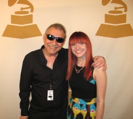 Tanin and Chicago chapter Grammy event maven Jenna Goode.  Photo courtesy Gary Tanin