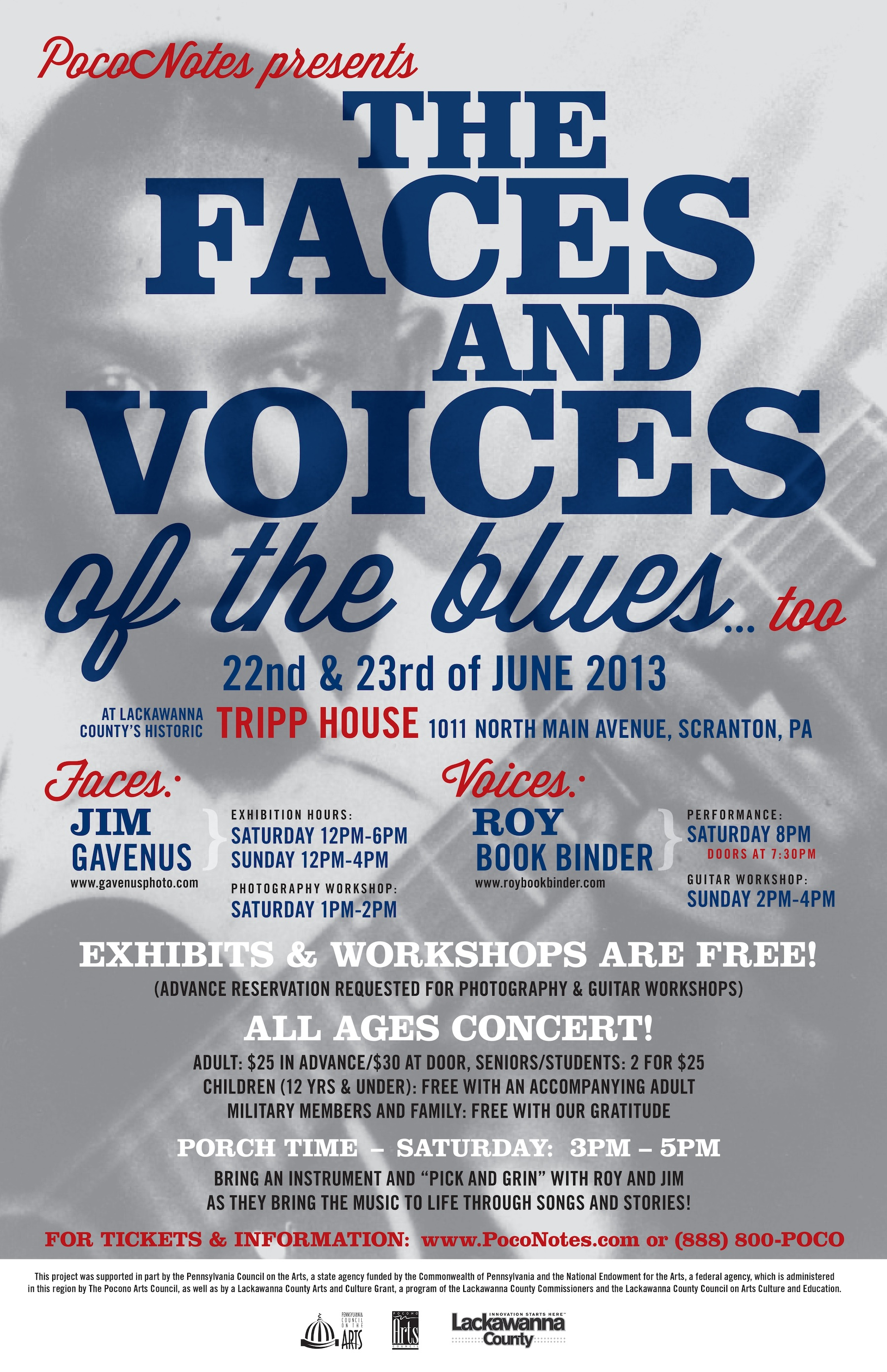Poconotes offers an invitation to the blues so you can experience not much more needs to be said here the poster tells it all courtesy stopboris Choice Image